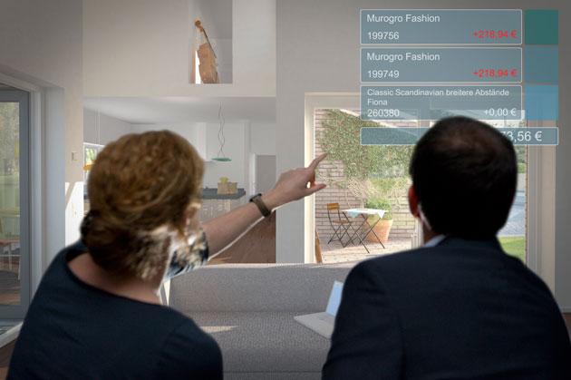 Virtuelle Hausbesichtigung im Bauherrenkino
