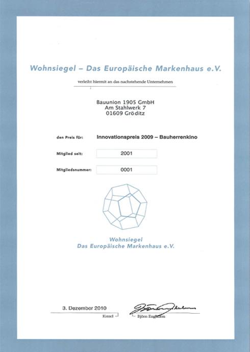 Innovationspreis 2009