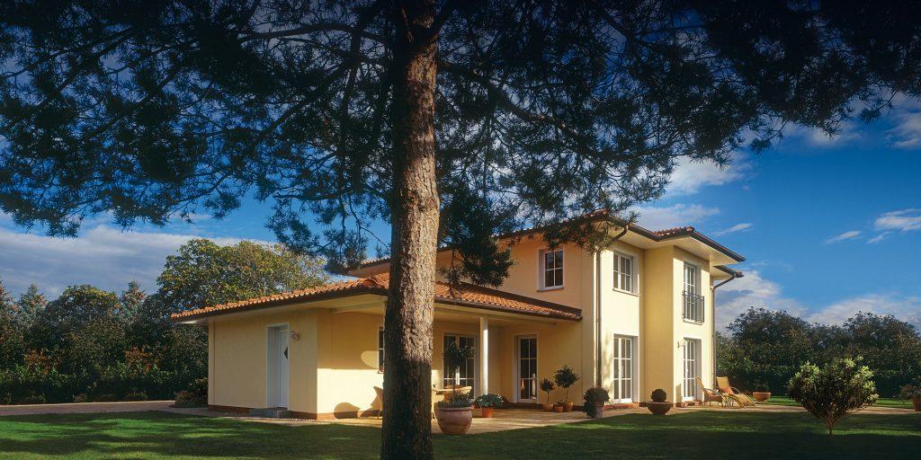 Stadthaus S 600 Mediterran Garten