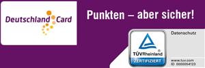DeutschlandCard TÜV Zertifikat Punkten aber sicher